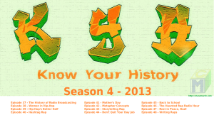 Know Your History Season 4