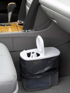 Life Hack - Car Garbage Can