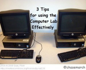 Computer Lab Tips