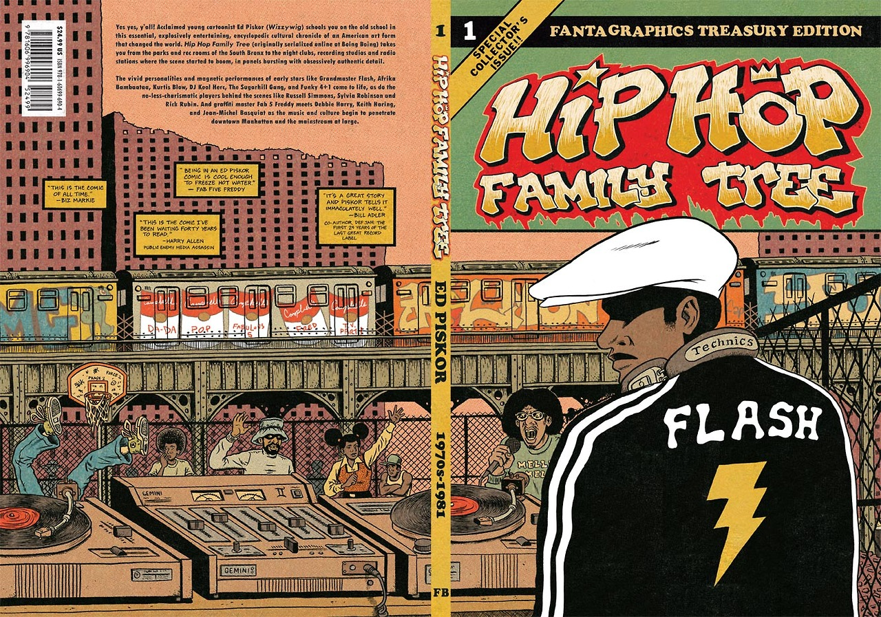 today is comic book day silent cacophony hip hop family tree cover