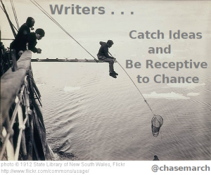 Writers Catch Ideas
