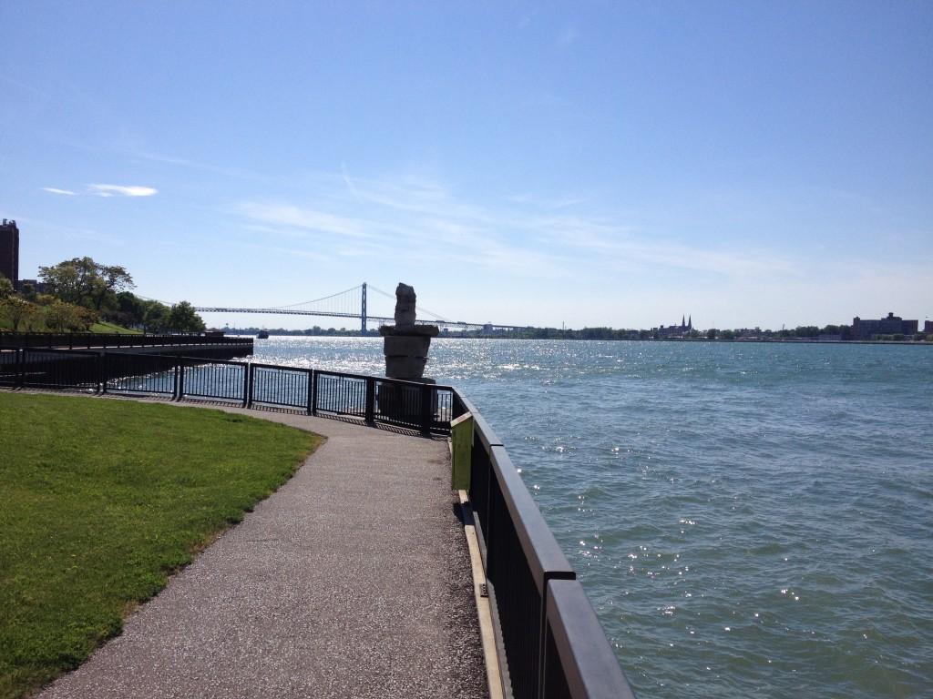 Waterfront walkway