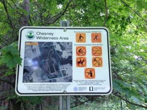 Chesney Trail Map