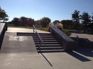 stairs and ramp