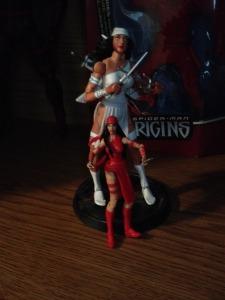 Two Elektra figures