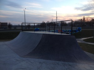 White Oaks quarter-pipe