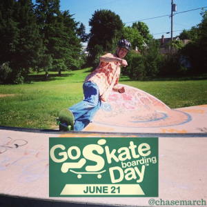 Go Skateboard Day