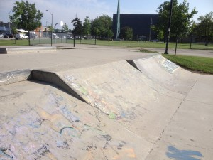 Parkdale skateboard park