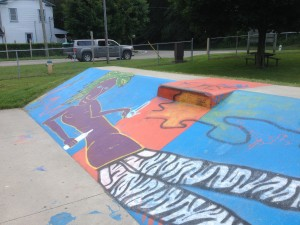 SkatePort Launch Ramp