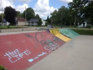 Skateport Quarter Pipe