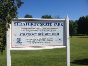 Strathroy Sign