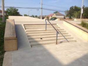 Turner Park Mini-Stairs and Rail