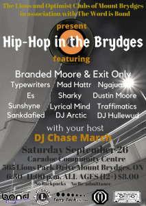 Hip-Hop in the Brydges FINAL POSTER