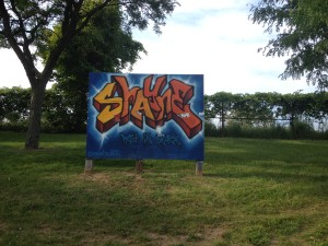 Memorial Graffiti