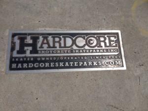 hardcore plaque