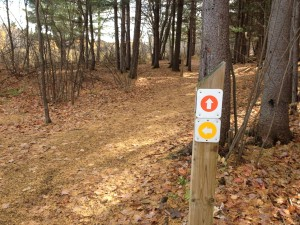 Laurier Trails Sign Posts