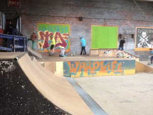 View from the Half Pipe