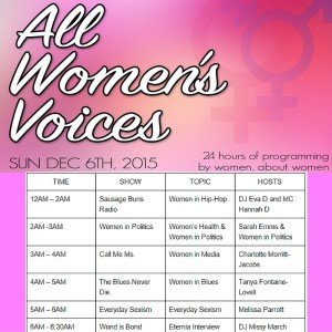 All Women's Voices Day 2015