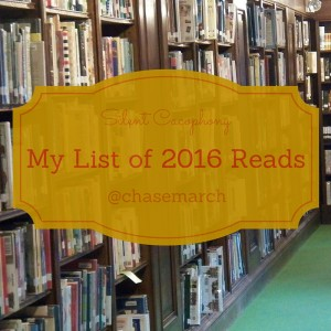 My 2016 Reads