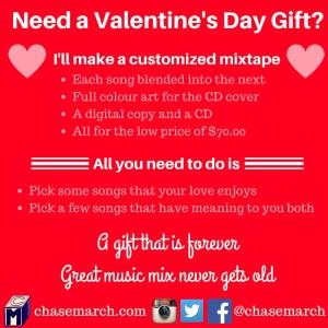 Valentine's Day Mixtape Service