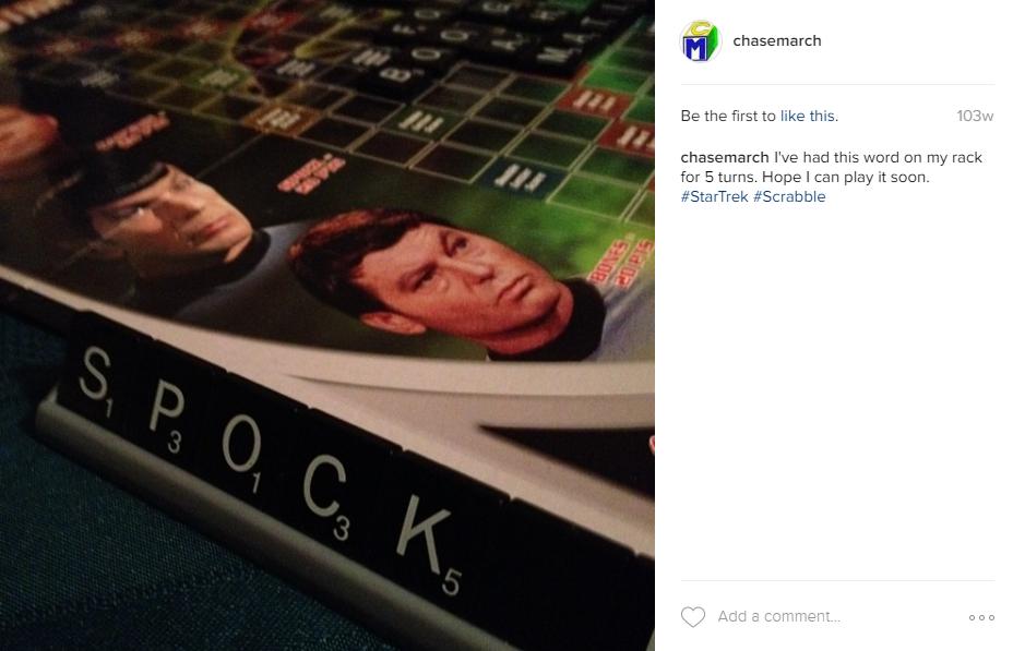 Spock Scrabble