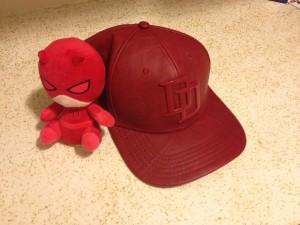 daredevil-baseball-cap-and-plushie