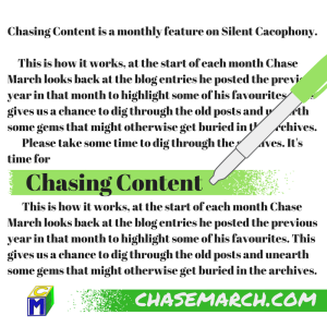 Chasing Content (3)