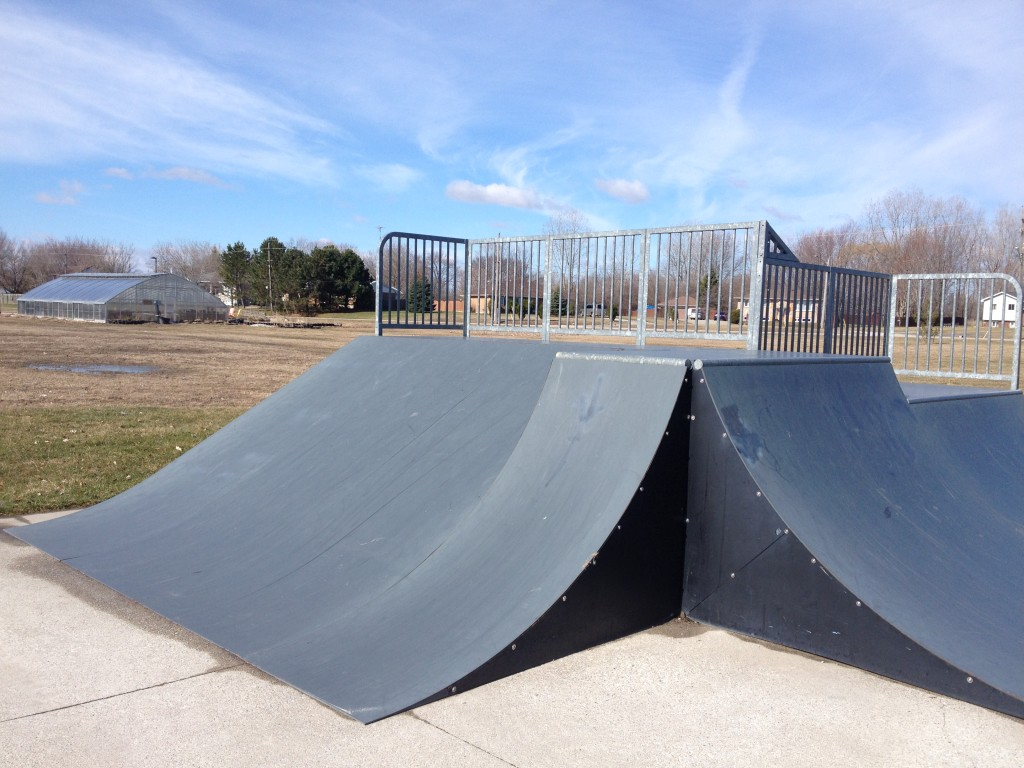 Roll-in ramp