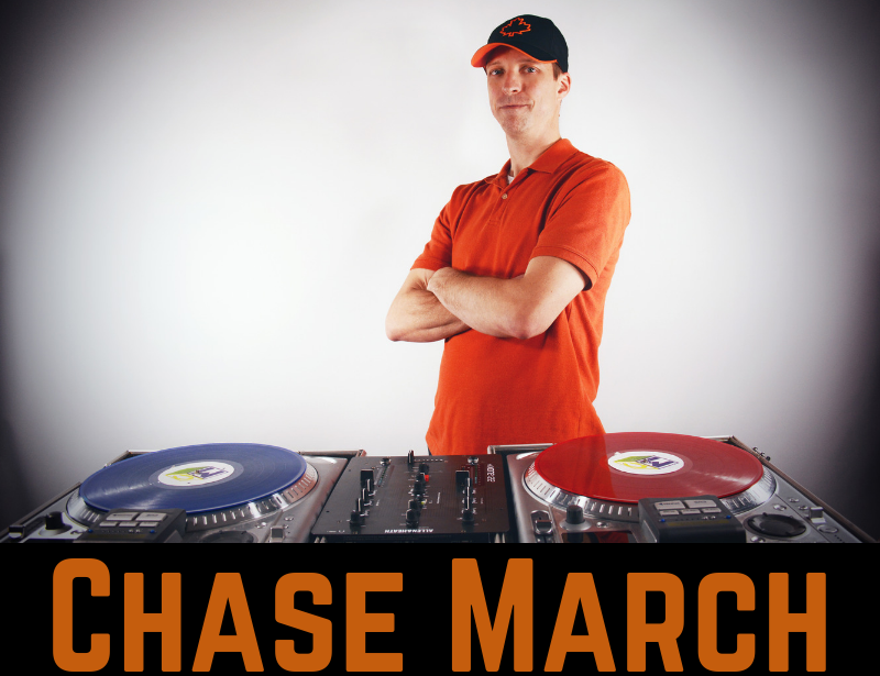Chase March Info Header