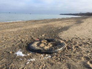 Washed Up Tire