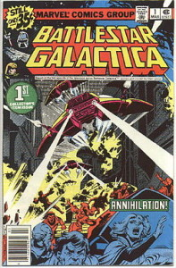 Battlestar Galactica Marvel Series