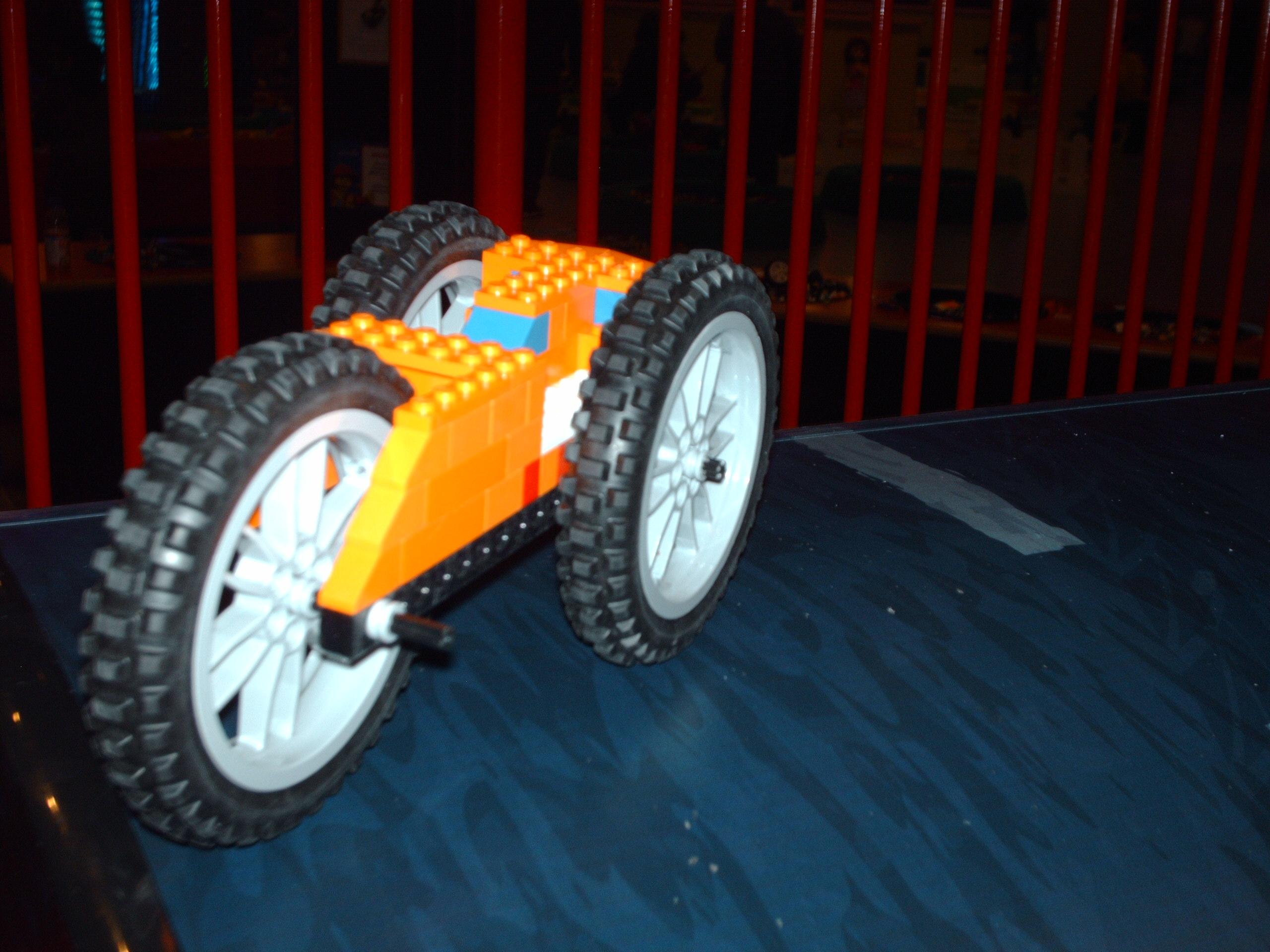 Lego Chase Car