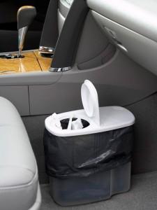 Life Hack - Car Garbage Can