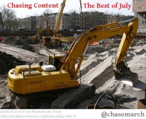 Chasing Content July