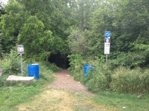 bechtel park trail entrance