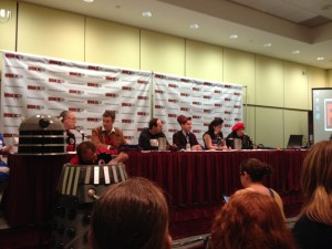 DW cosplay panel