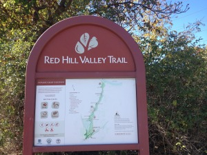 Red Hill Trail Sign
