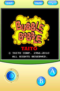 Bubble Bobble Title Screen