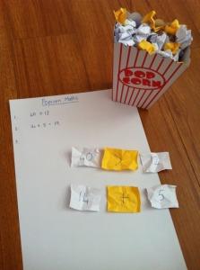 Popcorn Math