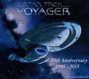 Star Trek Voyager 20th