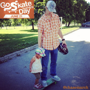 Go Skate with a Kid