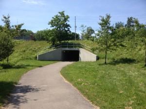 Underpass to Warbler Woods
