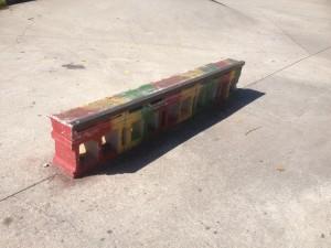 DIY ledge