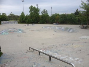 Kitchener Aud Skatepark