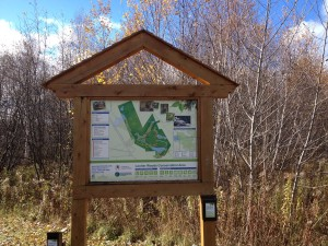 Laurier Woods Sign