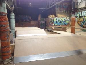 Warehouse Style Skatepark