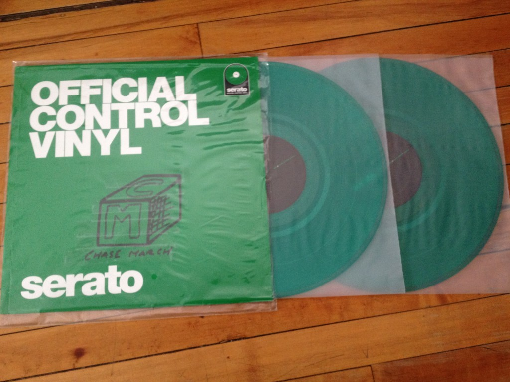 Chase March control vinyl