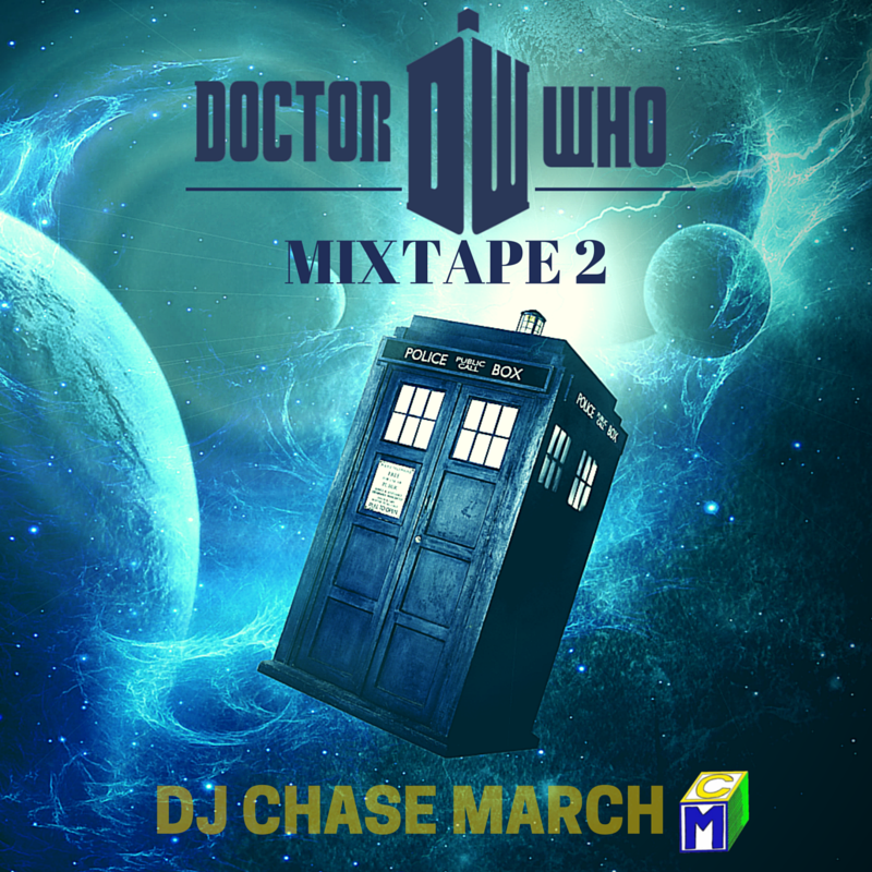 Doctor Who Mixtape 2 Front Cover