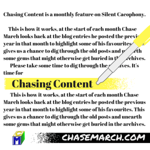 Chasing Content (2)