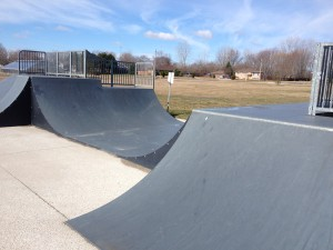 Mini-ramp Half-pipe